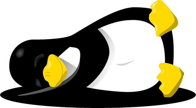 spící tučňák
