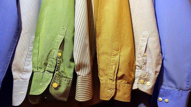 barevné košile