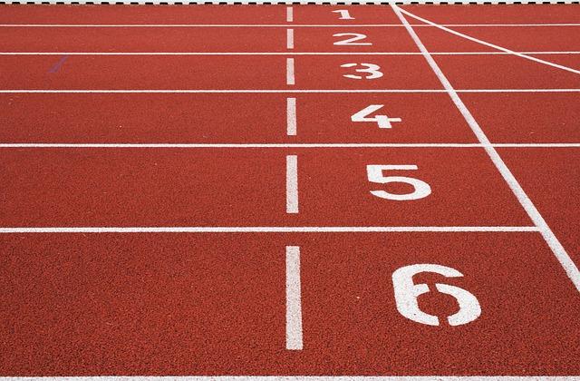 atletický stadion - detail